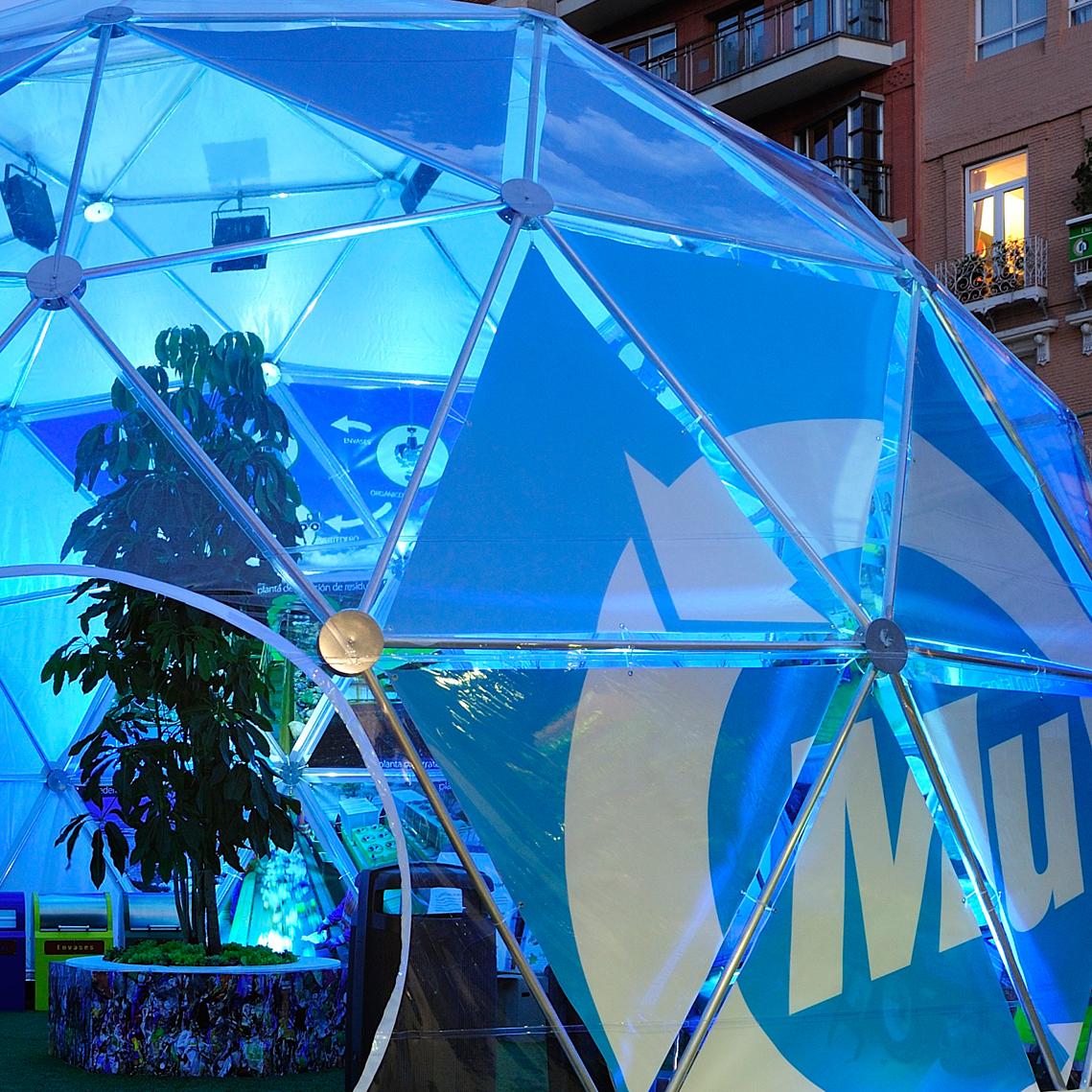 cúpula-geodésica-presentación-murcia-ciudad-sostenible