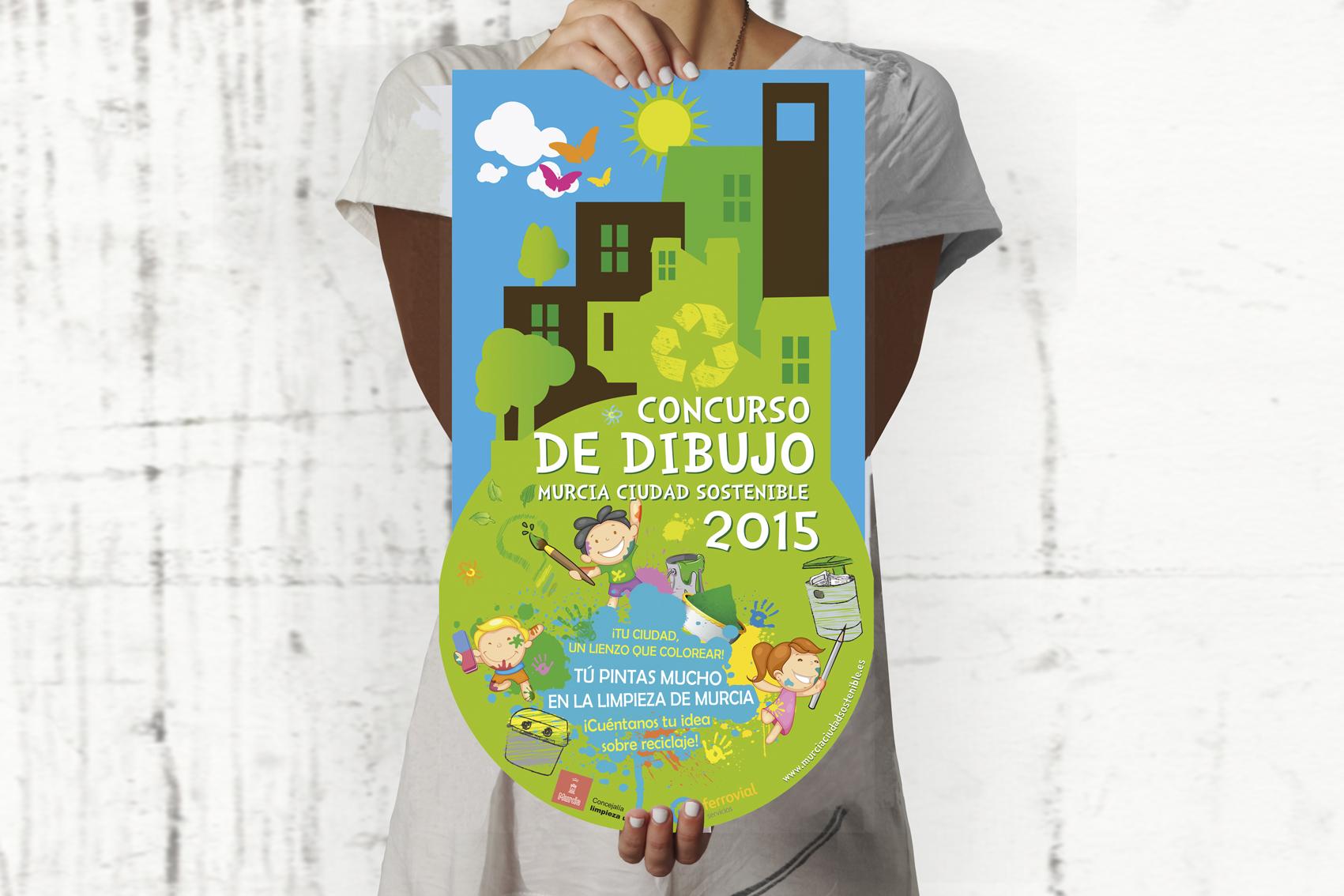 cartelería-concurso-dibujo-murcia-sostenible