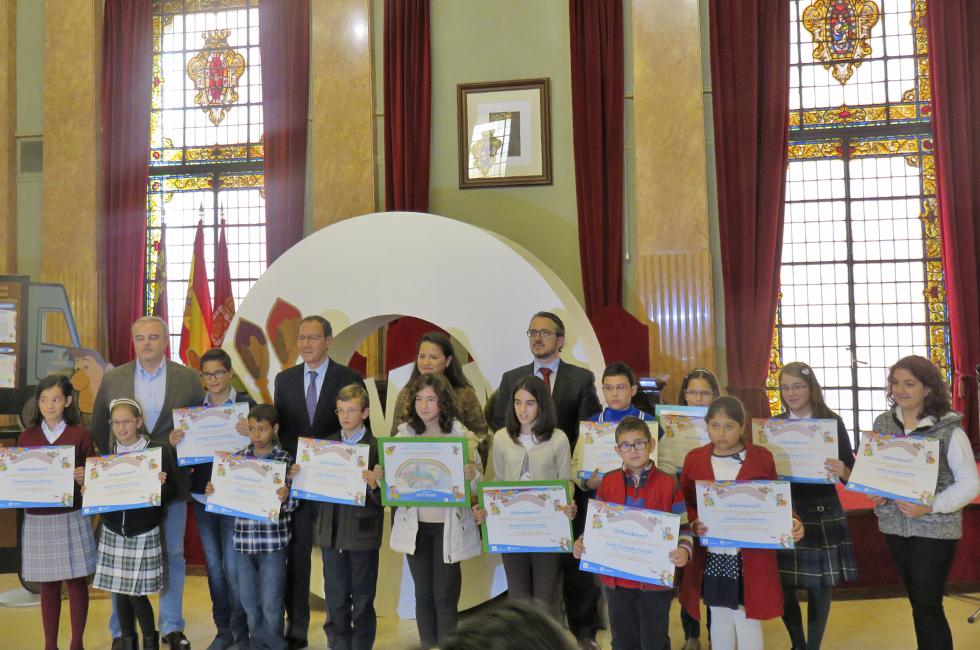 Premiados-Concurso-de-dibujo-murcia-sostenible