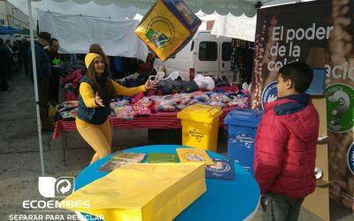 Marevents pone en valor el reciclaje gracias a una gincana queEcoembes ha promocionado en 48 mercadillos semanales del municipio de Murcia.