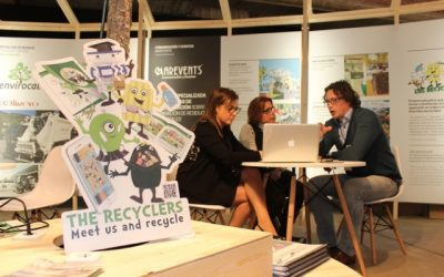 """""""Los Recicladores"""", suscitan gran interés en el I Forum Internacional de Gestión de Residuos Wasteinprogress"""